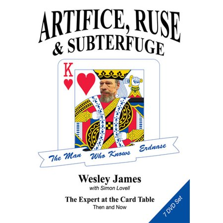 Expert at the Card Table 7 DVD Set by Wesley James (+ Book)