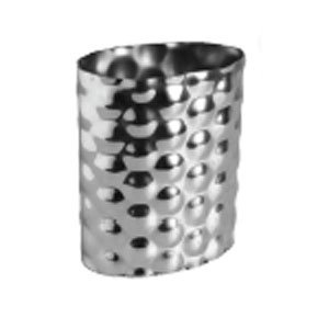 New Simmer Flower Vase Small  * Stainless Steel * Nuvo - New Accents