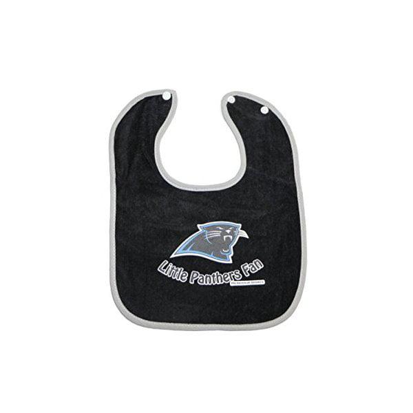 NFL Baby Fan Bibs (Carolina Panthers Black) # SP-1055 by