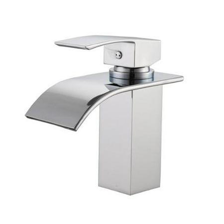 Sumerain Single-Hole Waterfall Bathroom Faucet - Walmart.com