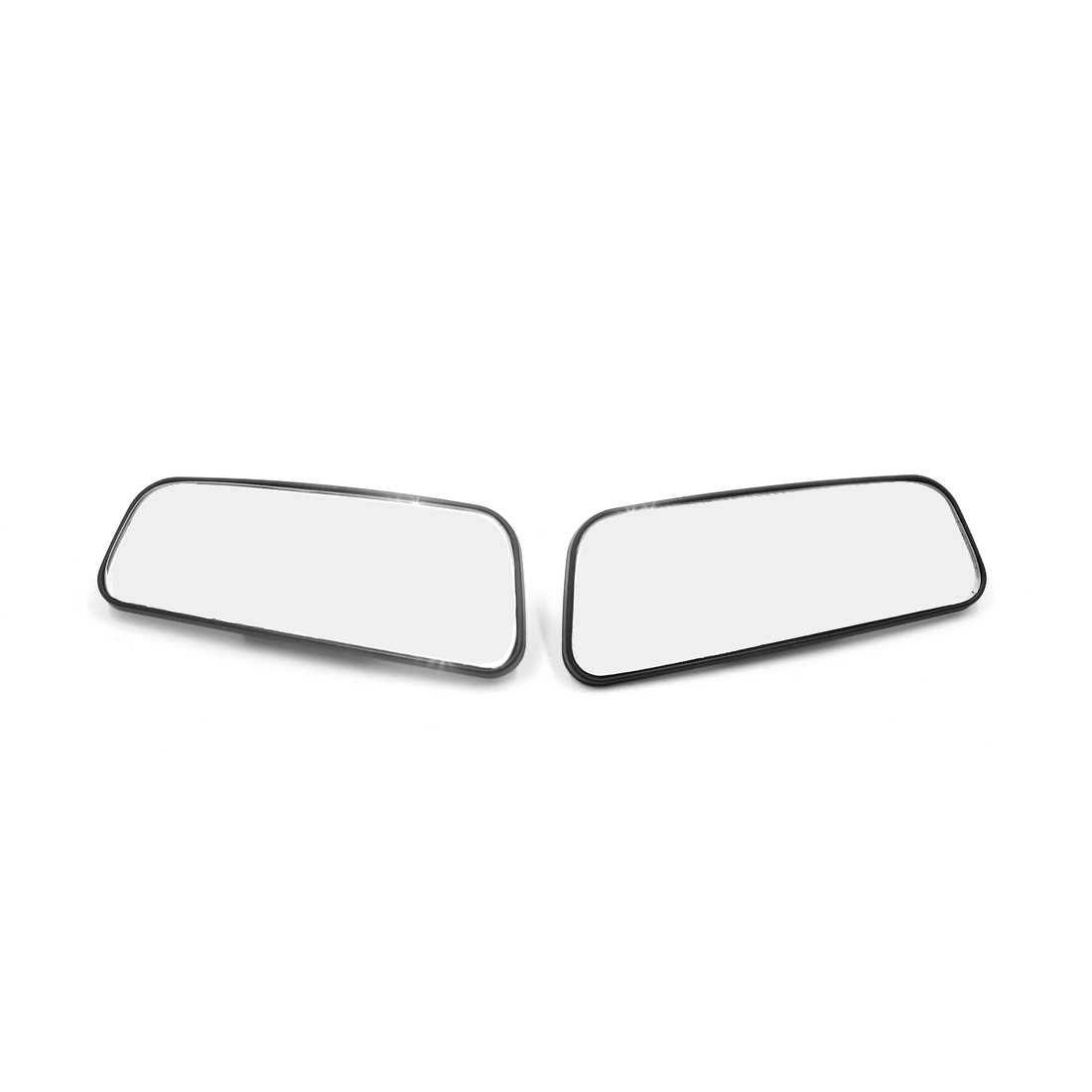 2pcs 360 Degree Wide Angle Rear Side View Auxiliary Blind Spot Mirror for Car - image 2 de 3