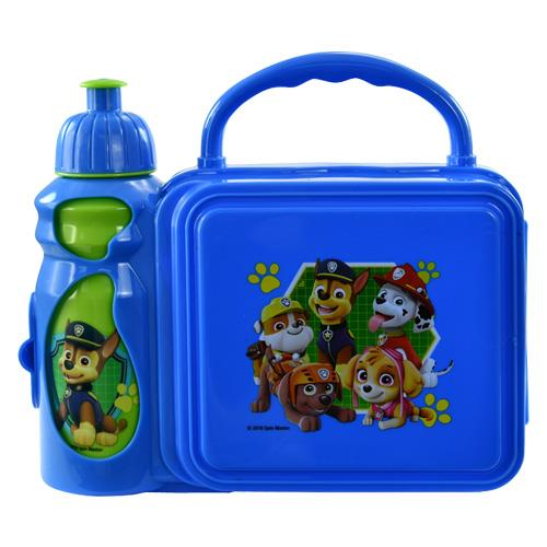 Paw Patrol Combo Lunch Box with Water Bottle