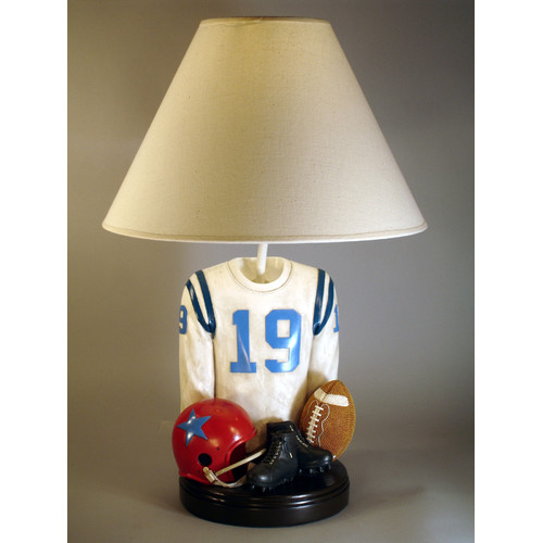 Judith Edwards Designs Football Jersey 20'' Table Lamp