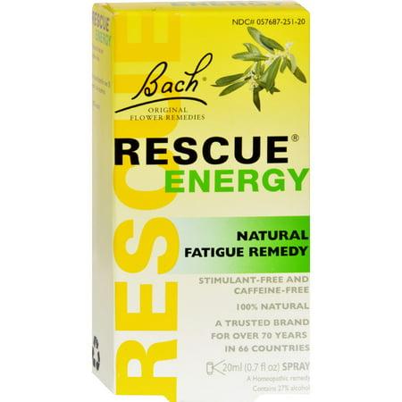 Bach Flower Remedies - Rescue Energy 20 ml []
