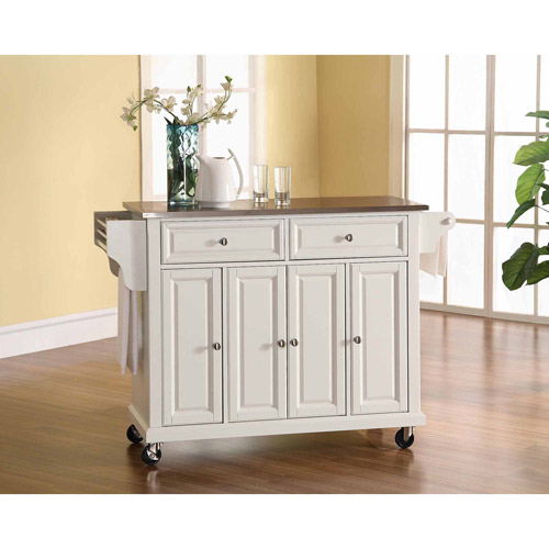 Crosley Furniture Stainless Steel Top Kitchen Cart by Generic