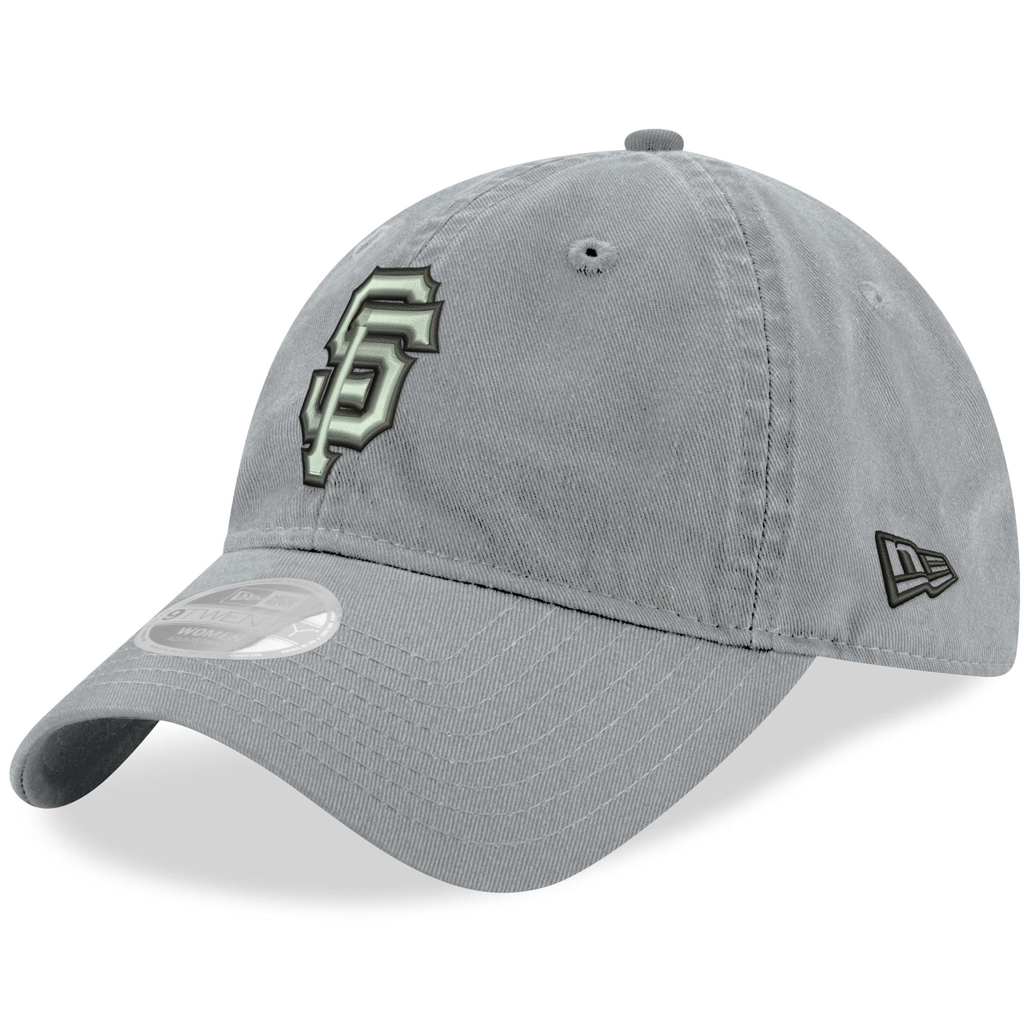San Francisco Giants New Era Women's Swift 9TWENTY Adjustable Hat - Gray - OSFA