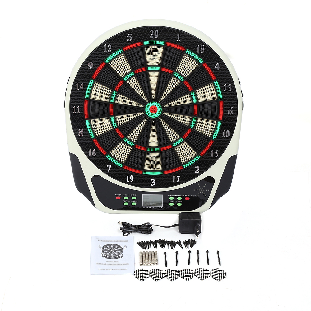 CHOIFOO Professional Dartboard Set w/ LED Screen Electron...