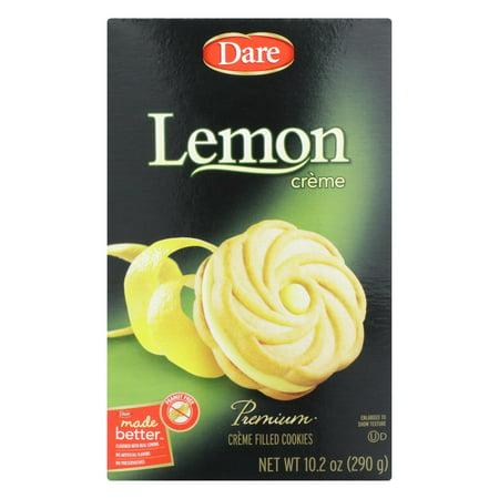 Dare - Cookies - Lemon Creme - Case of 12 - 10.2 oz. ()