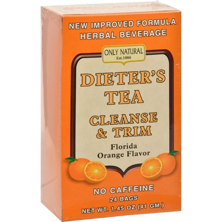 Only Natural Dieter's Tea Cleanse and Trim Orange 24 Tea