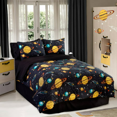 Veratex  Inc  Rocket Star Reversible Comforter Set