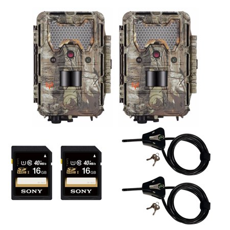 Bushnell Trophy Cam Hd Aggressor Low Glow Trail Camera Realtree Bundle Walmart Com