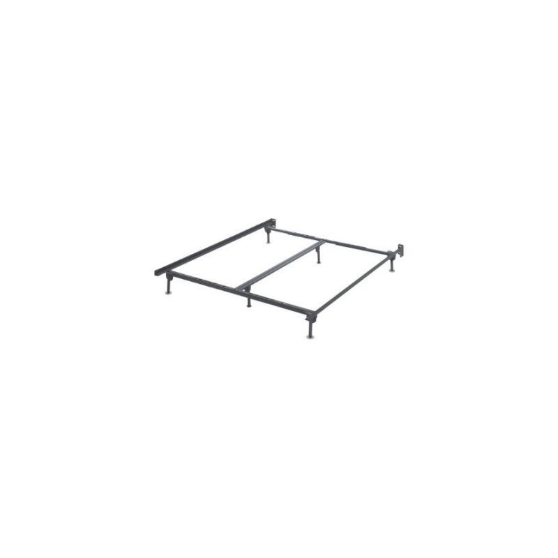 Ashley Queen King California King Metal Bed Frame in Black by Ashley Furniture
