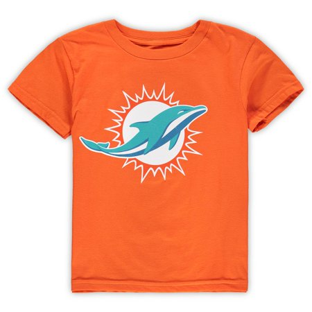 Miami Dolphins Team Colors - Miami Dolphins Preschool Team Logo T-Shirt - Orange