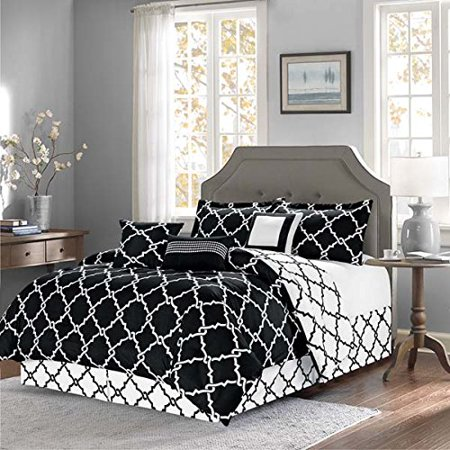 Empire Home Modern 11 Piece Comforter Set Bed In A Bag Black California
