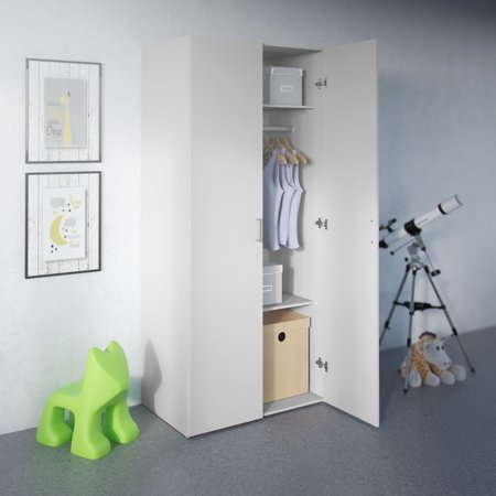 Space Wardrobe with 2 Doors