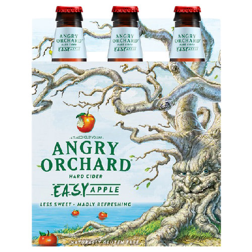 Angry Orchard Easy Apple Hard Cider, 6 pack, 12 fl oz