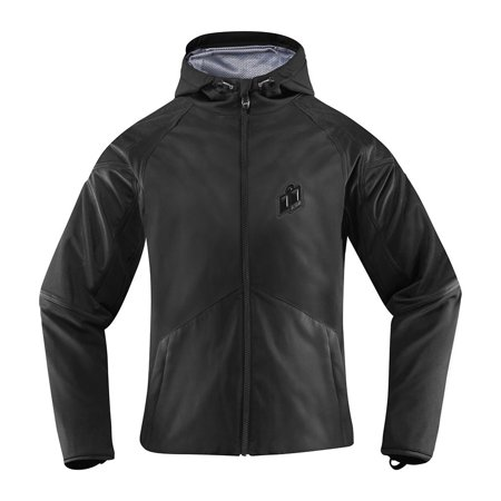 Icon Women's Merc Stealth Jacket Stealth 2XL  2822-0937