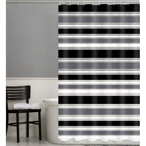 Maytex Sonata 13-Piece PEVA Shower Curtain Set