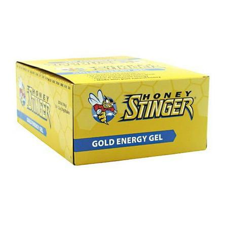 Honey Stinger Energy Gels, Gold, 1.3 Oz