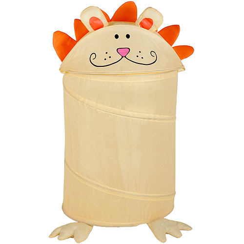 Honey-Can-Do Medium Collapsible Kids Pop-Up Hamper, Lion