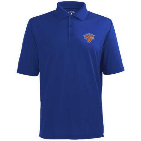Antigua Polo Shirt (Antigua New York Knicks Pique Xtra-Lite Performance Polo - Royal Blue)