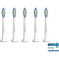 Philips Sonicare Simply Clean Replacement Toothbrush Heads, 5 Pack, HX6015/03