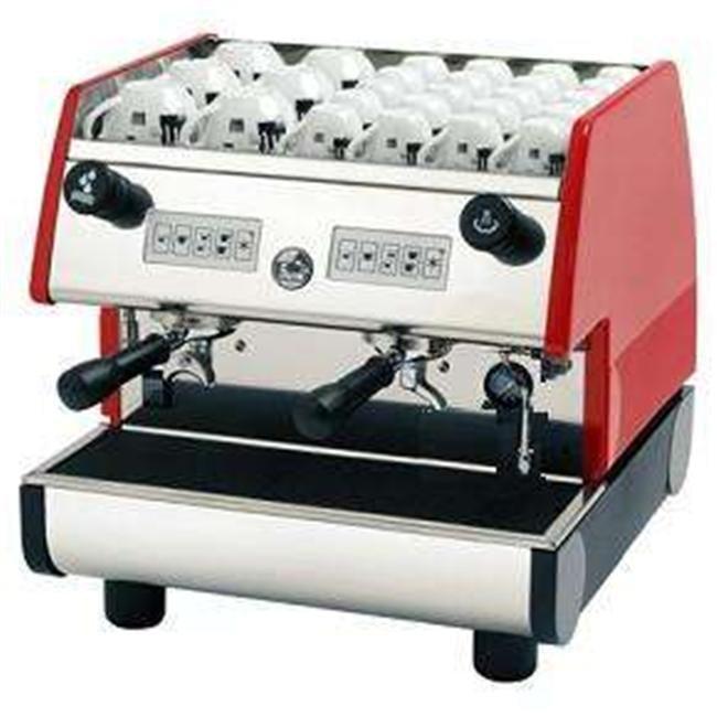 European Gift PUB 2V-R La Pavoni Pub 2 Group Volumetric Dosing Espresso Machine by