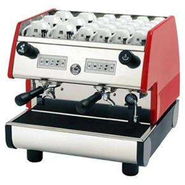 European Gift PUB 2V-R La Pavoni Pub 2 Group Volumetric Dosing Espresso Machine by European Gift