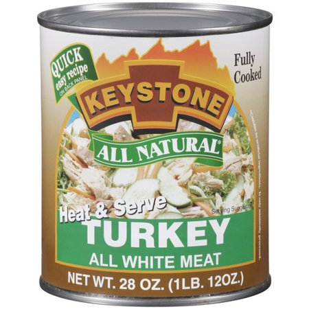 Keystone All Natural Heat   Serve Turkey  28 Oz