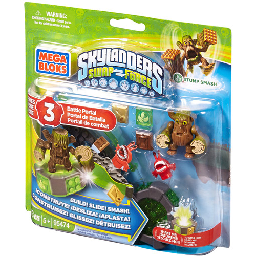 Mega Bloks Skylanders Giants Stump Smash's Battle Portal Building Set