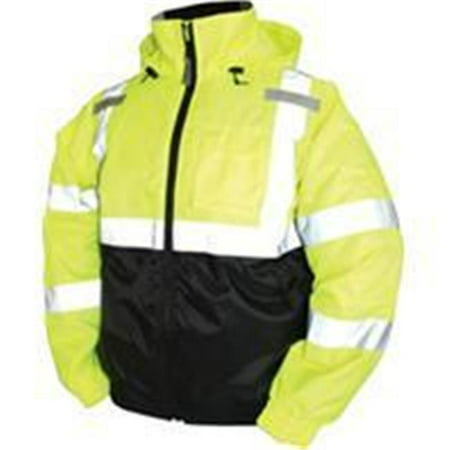 Tingley Rubber Corp.-Bomber Ii High Visibility Waterproof Jacket- Lime Green 2 Extra Large