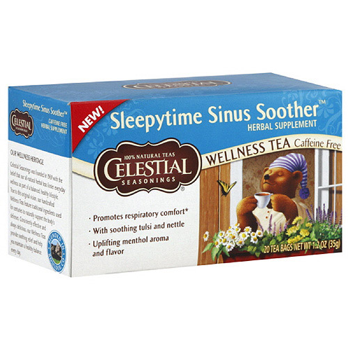 Celestial Seasonings Sleepytime Sinus Soother Tea Bags, 20ct (Pack of 6)