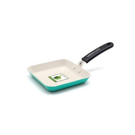 GreenLife Ceramic Non-Stick Mini Square Grill Pan