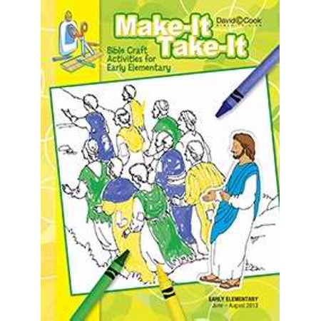 Bible-In-Life/Reformation Press Summer 2019: Early Elementary Make-It Take-It (Craft Book) (#1023)