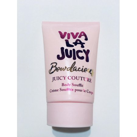 Juicy Couture Viva La Juicy Bowdacious Body Souffle Lotion Cream Creme EDP 4.2 oz Body Souffle Strawberry
