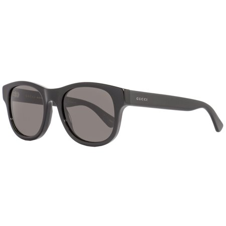 Gucci Oval Sunglasses GG0003S 001 Shiny Black 0003