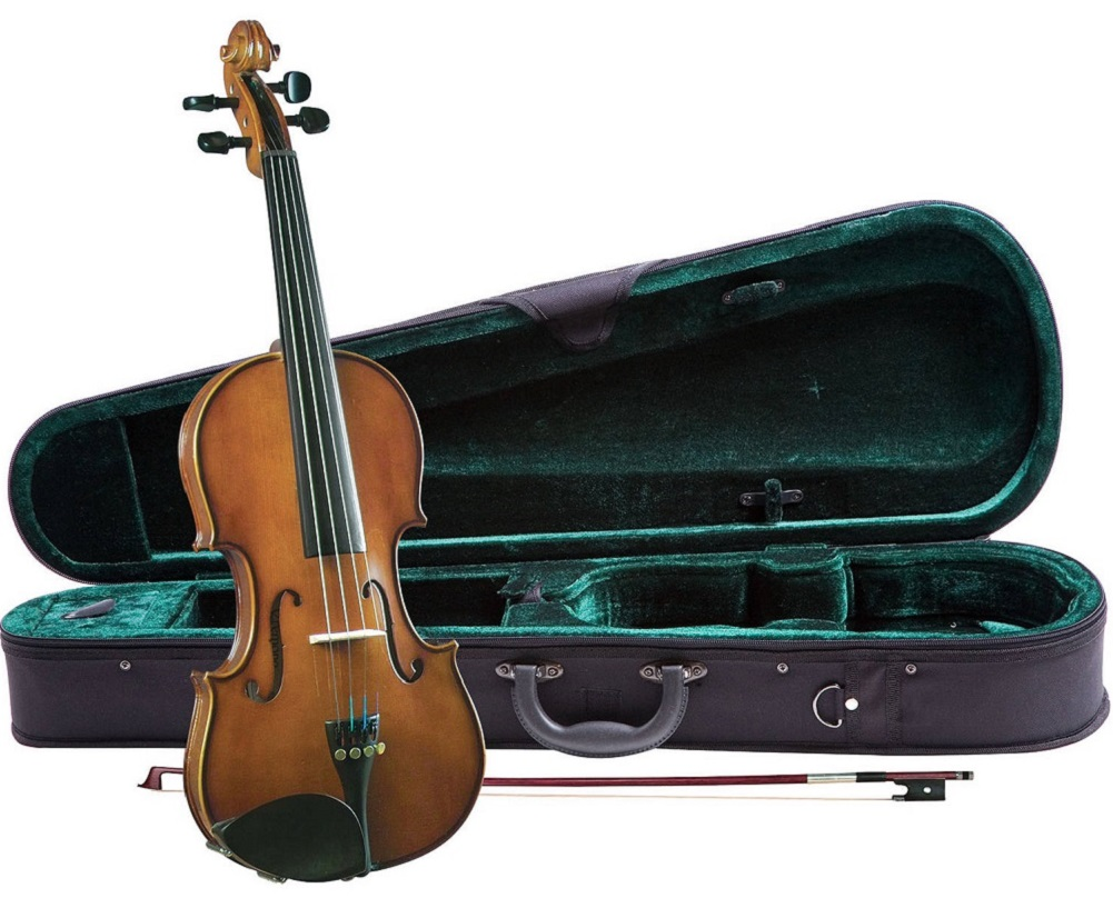 Cremona SV-130 Premier Novice Violin Outfit 4 4 Size by Cremona