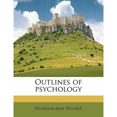 Outlines of Psychology Paperback