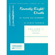 78 Duets for Flute and Clarinet: Volume 2 - Advanced (Nos. 56-78) (Paperback)