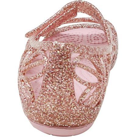 0fac4cf614ad Crocs Isabella Glitter Flat Fuchsia   Candy Pink Ankle-High Shoe - 7M -  image ...