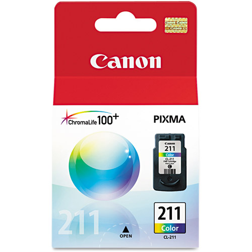 Canon CL-211 Color Ink Cartridge For PIXMA MP240 and MP480 Printers
