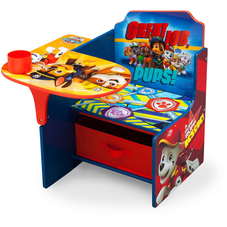 Delta Children Nick Jr Paw Patrol Chair Desk With Storage