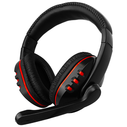Blast Off Gaming Headset for Xbox 360 - Black/Red with 2 Year Warranty