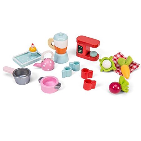 Le Toy Van Tea Time Kitchen Accessory Pack Playset Premium Wooden Toys for Kids Ages 3 Years & Up - image 1 of 3
