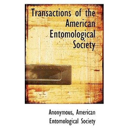Transactions of the American Entomological Society - image 1 of 1