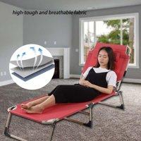 Anauto Outdoor Lounge, Outdoor Folding Recliner,Portable Folding Outdoor Camping Lounge Beach Garden Patio Recliner Reclining Chair