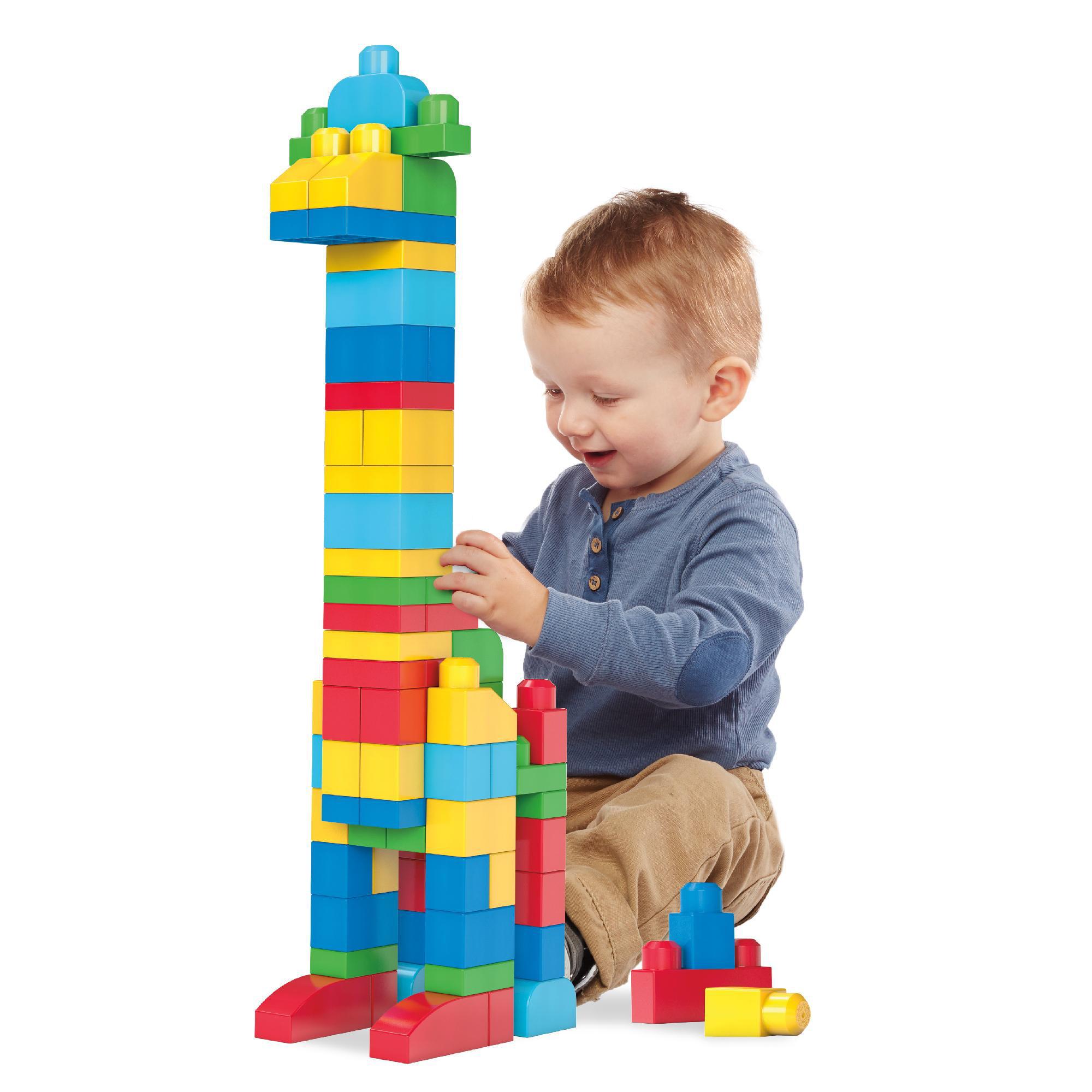 NEW toys kids First Builders Building Bag Big Mega Bloks Classic