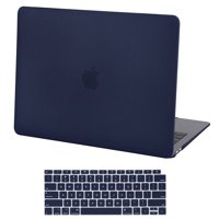 5ec8ec15c0 HDE Hard Shell Folio Case and Keyboard Cover for 2018 Apple MacBook Air 13  Inch with Touch ID (Retina Model: A1932) - Navy Blue