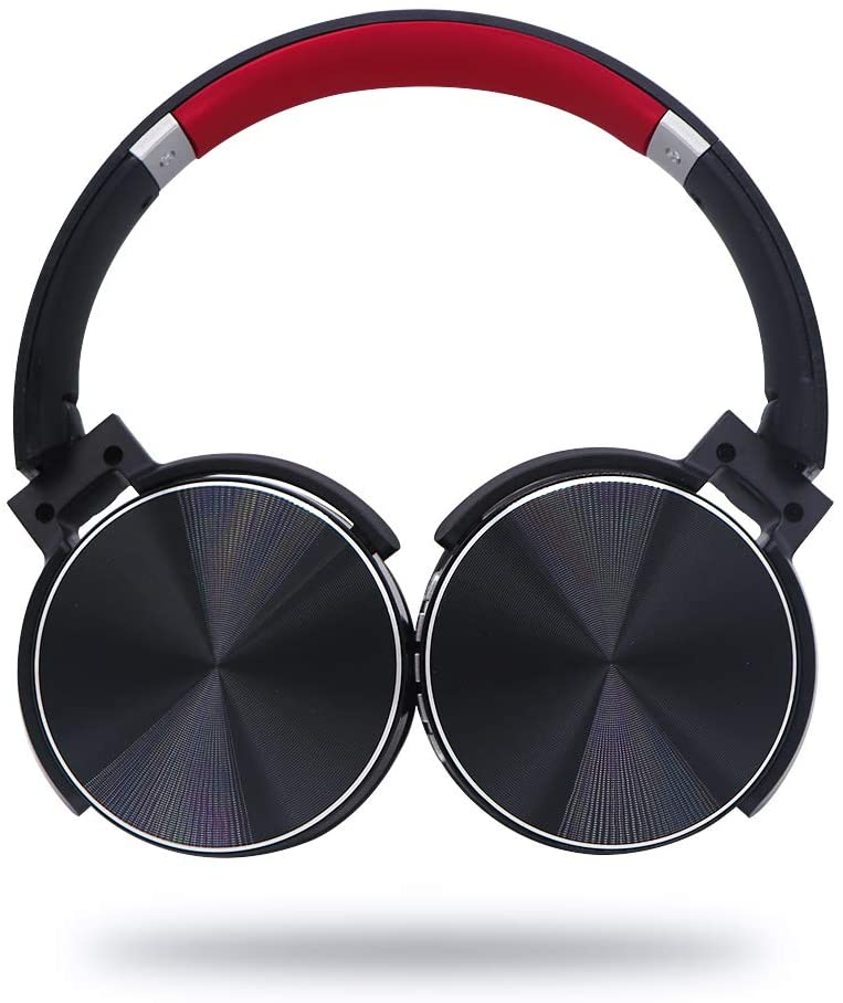 Intera Noise Cancelling Bluetooth Headphones Foldable Hifi Stereo Wireless Over Ear Headset Rechargeable Wireless And Wired Headphones With Built In Microphone For Iphone Samsung Ipad Black Walmart Com Walmart Com