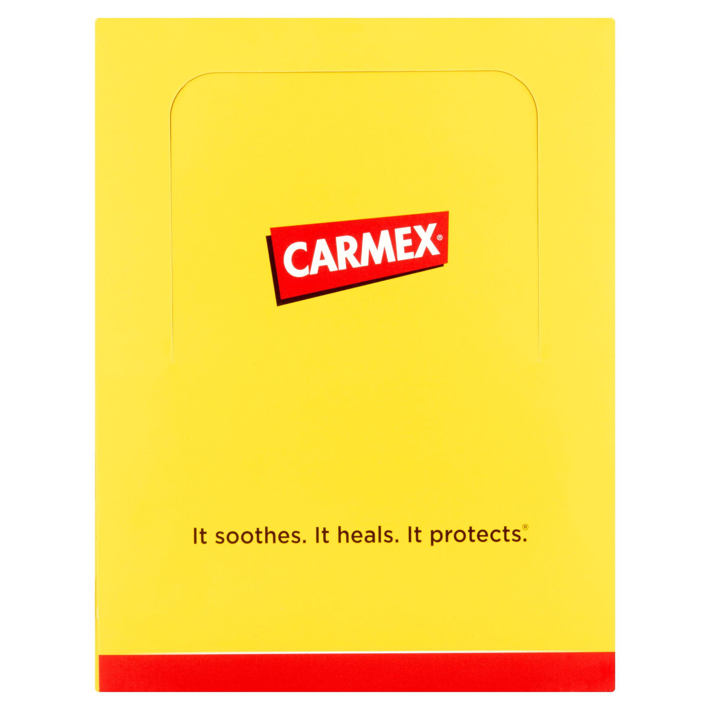Carmex Original Jar, .25 oz, 12 pack